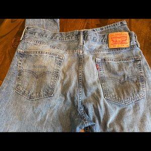 Men's Levi jeans. Light denim